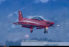 Sion Airport: Pilatus PC-21 (Simone Ciaralli - AirTeamImages) Tags: saimonvolo saimon simone ciaralli sion switzerland aviation avgeek airteamimages olympus zuiko swissairforce military