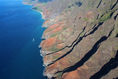 Nāpali Coast State Wilderness Park (russ david) Tags: nāpali coast state wilderness park helicopter kauai september 2016 hawaii hi ハワイ 風景