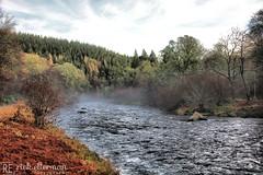 Laird's Throat (Rick Ellerman) Tags: canon canon750d scotland aberdeen aberdeenshire garioch don riverdon lairdsthroat fishing water mist