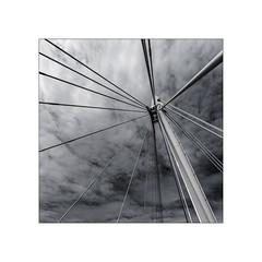 Haubans (Jean-Louis DUMAS) Tags: pont ciel bw noretblanc noiretblanc artist bridge