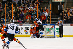 "Missouri Mavericks vs. Wichita Thunder, February 3, 2017, Silverstein Eye Centers Arena, Independence, Missouri.  Photo: John Howe / Howe Creative Photography • <a style=""font-size:0.8em;"" href=""http://www.flickr.com/photos/134016632@N02/32561330642/"" target=""_blank"">View on Flickr</a>"