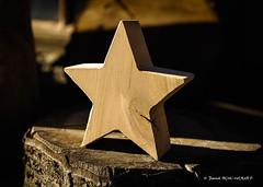 Cicatrice (patoche21) Tags: autriche tyrol voyages zillertal artetdécoration bois étoile europe austria wood star sculpture patrickbouchenard texture art ombreetlumière lightandshadow