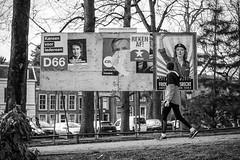 © Inge Hoogendoorn (ingehoogendoorn) Tags: verkiezingsbord verkiezingsbord2017 verkiezingen verkiezingen2017 elections thenetherlands utrecht blackandwhite streetphotography straatfotografie streetjournalism blacknwhite zwartwit mariannethieme partijvoordedieren