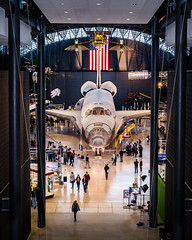 My Discovery (4myrrh1) Tags: discovery spaceshuttle nasa rocket launch space orbit manned mission orbital canon 6d dulles udvarhazycenter smithsonian virginia va