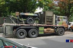 BDQJ09-4616 RENAULT G290 VTL (milinme.myjpo) Tags: frencharmy renault g290 vtl véhicule de transport logistique remorque rm19 trailer bastilleday