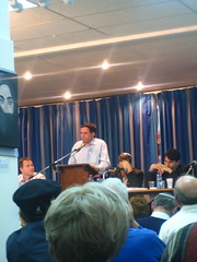 Local political debate in Netanya