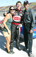 Carl Edwards with Amanda picture (mbennett - Carl Edwards) Tags: nascar kylepetty carledwards amandabeard