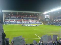 Ibrox Stadium, Glasgow. Villarreal Card Display (tcbuzz) Tags: scotland football stadium glasgow rangers ibrox villarreal