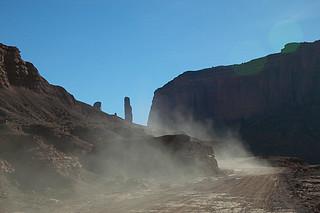 Dusty Desert Road
