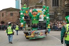 St Patrick's Day, B'ham 030 (Martin O'Connell) Tags: ireland irish birmingham stpatrick stpatricksdayparade stpatricksfestival