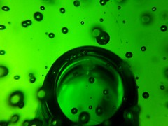 (jaja_1985) Tags: macro green glass closeup bubbles transparency transparent paperweight