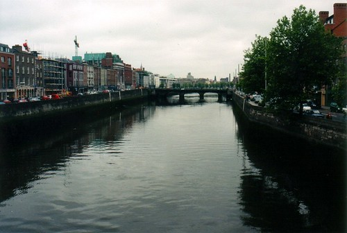 River Liffey from Ha'Penny Brige
