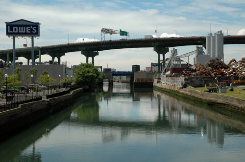 Gowanus Canal and Expressway
