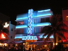 Neon, Colony Hotel, Miami Beach