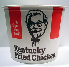 1980's Kentucky Fried Chicken Bucket