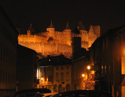 La ciudad medieval y amurallada de Carcassonne