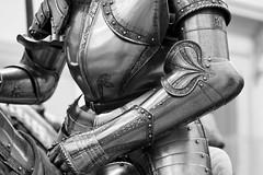 Knight's armor #2 (Mark Interrante) Tags: newyorkcity bw ny newyork art metal museum shoe manhattan armor knight met metropolitan themet metropolitanmuseumofart