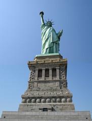 Statue of Liberty (Captain Mayhem) Tags: nyc newyorkcity usa ny newyork statue composite photoshop liberty freedom us patriotic montage statueofliberty patriot patriotism libertyisland