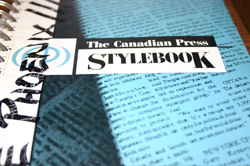 Canadian Press Stylebook