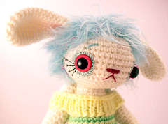 gwen2 (ElisabethD) Tags: cute art stuffed doll softie crafty ornate amigurumi crocheted gourmetamigurumi detailed