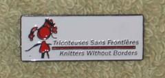 Tricoteuses sans frontieres button