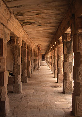 Darasuram-Vanishing Point (Ravages) Tags: world old travel india history stone architecture vanishingpoint asia time perspective creativecommons temples monuments indianarchive tamilnadu kiss2 chola indianness darasuram kiss3 kiss1 kiss4 kiss5 visitindia visitchennai