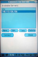 PalmVNC連線畫面