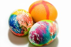 Tie-dyed (Heather Leah Kennedy) Tags: food color easter colorful egg eggs eastereggs easteregg tiedyed