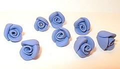 Lavender rosebuds (Jewelles Company) Tags: beads lavender rosebuds