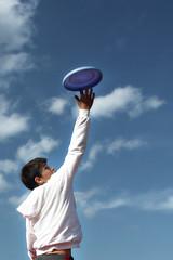 Toccare il cielo con un frisbee