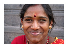 Radiant smile (Elishams) Tags: portrait woman india smile wow geotagged indian faith dailylife indianarchive tamilnadu inde southindia travelstory theface tiruvannamalai  50millionmissing