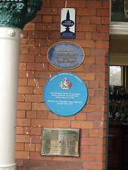 Photo of Victorian Buffet Bar blue plaque