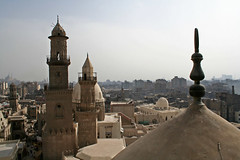 Islamic Cairo (Ane Bele) Tags: africa citadel minaret islam egypt middleeast mosque cairo minarets muhammadalimosque