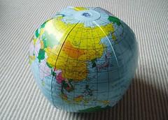 Globe by stevecadman