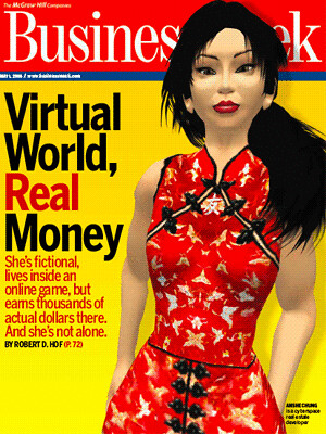 Second Life on the cover of BusinessWeek by thelastminute.