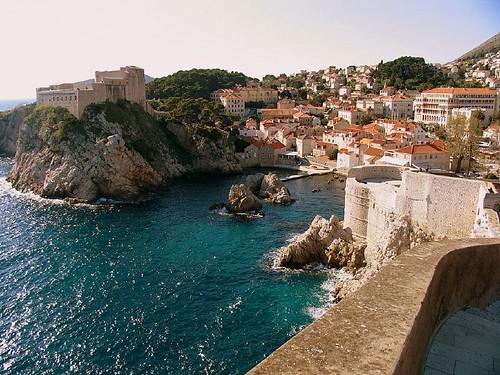 Sunshine over Dubrovnik
