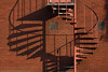 Double Helix (Mark Rutter) Tags: uk shadow red brick stairs spiral all dna helix top10 coventry f5 doublehelix midlands i20 i120 explored markrutter