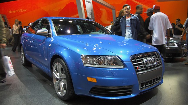 auto show new york cars 2006 audi s6
