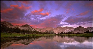 Blazing Sunset (Pioneer Basin - crop)