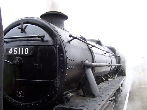 Severn Trent Railway Steam Engine