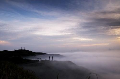 兩百公尺的雲海