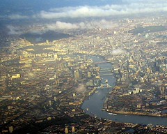 London Aerial View Close Up - by Bobcatnorth