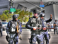 day of protest #1 (Kris Kros) Tags: california ca usa public cali photoshop photography freedom la us losangeles interestingness high cool interesting nikon pix day dynamic cs2 labor alien protest police belief battle 2006 ps right demonstration socal believe cop illegal kris range immigration hdr jjj struggle laborday interestingness9 equality righteousness kkg equal righteous nikoncoolpix may1 humanright 3xp photomatix illegalalien pscs2 kros kriskros battlegear exploretop20 kk2k kkgallery