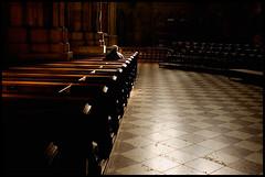 is anyone listening? (sam b-r) Tags: vienna wien man church austria alone god prayer religion stephansdom s61208921 sambrimages