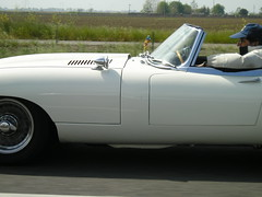 Jag (mcpic) Tags: white driveby freeway pointandshoot jag xke