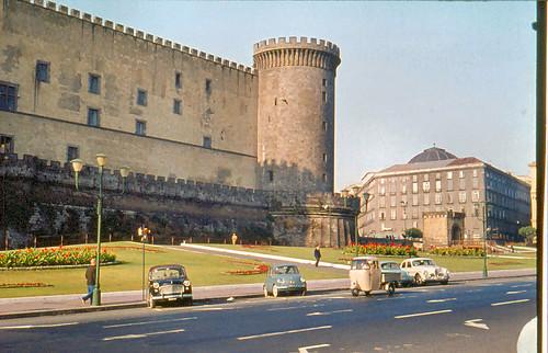 Castel Nuovo Napoli, Naples  1960. Maschio Angioino