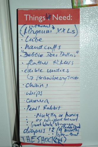 Friends Re-Do My Grocery List