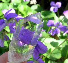 Crystal Clear (adamantine) Tags: flowers macro beautiful ilovenature crystal clear mineral arkansas quartz colorless tranparent