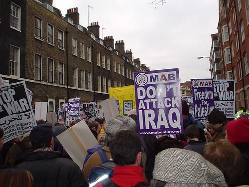 February 15th 2003 Antiwar Demo, London