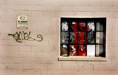 Snel-Smel 63 Cents (scotersen) Tags: windows cambridge sun window boston wall digital d50 graffiti nikon paint mit massachusetts sunday may sunny 2006 nikond50 walls tamron cinderblock sunnyday massave sundayafternoon massachusettsavenue cinderblocks